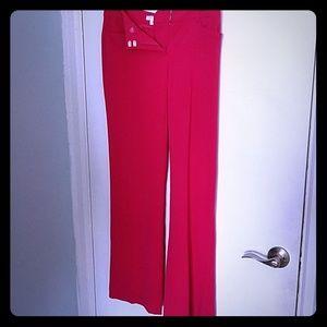 NY & Co Hot Pink Slacks (Pants)